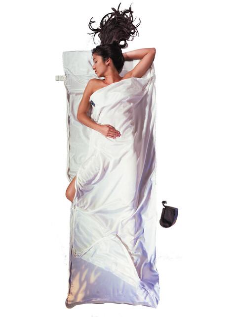Cocoon TravelSheet-Coupler Wkładka Silk Cotton biały